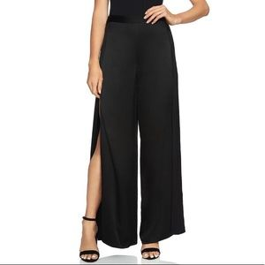 1. State Dramatic Pause Black Wide Leg Pants 8 NWT